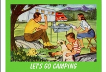 Camping / We love to camp. Started with a tent but now use our 1984 VW Camper. Love sitting around the campfire with a glass of wine. Interesting how food even tastes better cooked on a camping trip. Great camping in the North Georgia mountains. #camping #campers