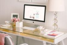 Office Decor / Fabulous Office Style: Decorate the place you spend the most of your time, with the same care you give your home.