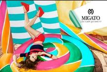 MIGATO campaign spring/summer 2013 / Life is what you make it!!!  Creative Direction/production/Concept by Parallax adv. www.parallaxadv.eu