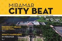 Miramar City Beat Magazine / The City of Miramar publishes a quarterly magazine with news and helpful information for Miramar Residents and Employees.