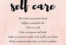 Self Care / A board devoted entirely to self care and self love. Become your #1 fan! ^.^