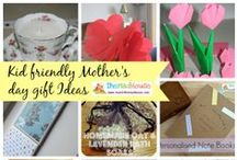 Mothers Day / Fabulous DIY cards, gifts and art for celebrating Mothers Day