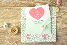 design // invitations + stationary / by Jessica Scarlett