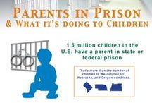 Prison Statistics & Infographics / When a child's parent is incarcerated and a healthy connection is maintained, it reduces the child's risk for social, emotional, and educational problems. For the incarcerated parent, family connection decreases the likelihood of recidivism. These pictures show how prison affects us all. / by The Messages Project
