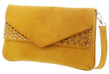 Sunshine Yellow / Yellow purse, clutches and totes