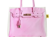 Pink Love / Pink handbag collection, from clutches, beach bags to classic purses