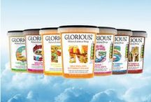 SkinnyLicious Soups / Introducing GLORIOUS! SkinnyLicious soups.  Delicious and healthy soup pots, unearthed from our own adventures around the world. All our SkinnyLicious recipes are less than 2% fat and under 150 calories per portion.  http://www.gloriousfoods.co.uk/fresh-soups/skinnylicious/