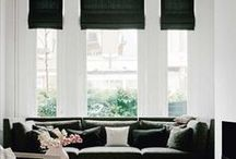 Interior - Living / Inspiring living area, along with couch, sofa, and coffee table / by S\W