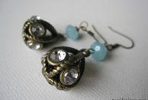 my earring designs {blues}