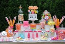 Dessert: Candy Buffet / Love is Sweet!
