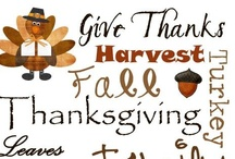 Holiday: Happy Gobble Gobble Day Decor - DIY / Remember to ALWAYS be thankful for what you have in life!