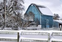 Barns / by Jill Moberley