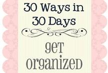 Organization: Get Organized