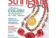 Published in these mags... / These are the magazines my jewelry designs have been published in...