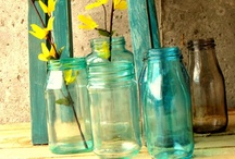 DIY Jars / Come on, who doesn't like to play around their jars at home? Seriously. / by Kimberly Efondo