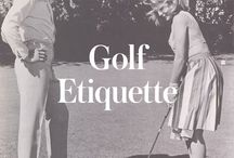 the golfer / by Kate Calcutt