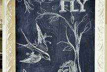 For the love of Chalkboards! / by Kelly Ooten