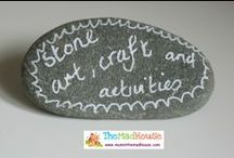 Stone and rock activities, art and crafts / Crafts, art and activities to do with stones and rocks for kids