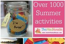 Summer activities and crafts for kids / activities, crafts and kids and families with a summer theme