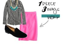 the nine to five style / office outfits  / by Kate Calcutt