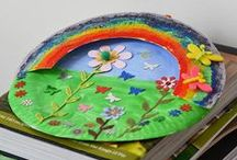 paper plate activities, crafts and art / Paper plates are ace and you can use them for so many activities, crafts and art with kids