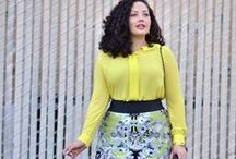 Street Style / Curvy and Plus Size Ladies looking fabulous in styles we love! The perfect way to get a little style inspiration!  / by Marisota