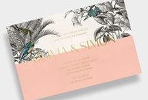Tropical invites/ Тропические приглашения