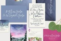 Venue inspired stationery