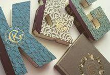 Library themed wedding stationery/Приглашения на книжную свадьбу