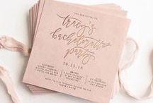 Bridal shower invites/ Приглашения на девичник