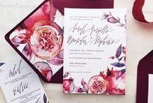 Fruit invitations/ Фруктовые приглашения