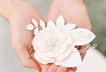 Paper flowers / Бумажные цветы в оформлении свадьбы. Вдохновение, мастер-классы, шаблоны, книги.
