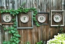 Outdoor: Decor / Who said you can't decorate the outdoors.