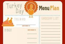 Food: Thanksgiving Meal Planning / Everyone has to plan and start somewhere...