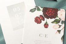 Floral invitations/ Цветочные приглашения