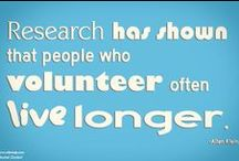 Volunteer Life / Giving your time to charitable causes is good for your health and good for the world.