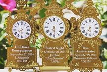 Clock invites