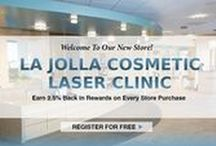 La Jolla Cosmetic Laser Clinic Online Store / Dr. Mani's patients enjoy the convenience of online shopping for the aesthetic treatments and specialty skincare products offered at La Jolla Cosmetic Laser Center. Earn reward points with every order that you can use on your very next purchase. Shop http://store.lajollalaser.com