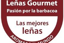 LEÑAS GOURMET / La colección Leñas Gourmet Aromas del Mundo ofrece una cuidada selección de leñas españolas y del mundo. Prender, asar y disfrutar de los aromas exquisitos sobre los alimentos.