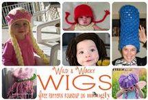Wig / Felt / Crochet