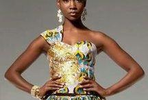 Afro Fashion / My African fashion muse / by Carolyn Seaman