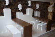 brandvorwerk lwb-lounge / Ein kleiner Bereich in der Moritzbastei in Leipzig ist die LWB-Lounge. Wir durften diesen Bereich im Jahr 2012 gestalten. Maßgabe: Nutzung für die Gastronomie und charmante Unterbringung der Kunst-Köpfe...