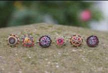 S jo BonBon Rings / A selection of our handmade and ethical bonbon rings, bright fun and easy to wear.
