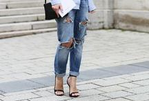 STYLE⎪ripped jeans / fashion style with ripped jeans