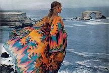 Kaftan Crazy / Crazy for kaftans! The most chic and easy shape of all.