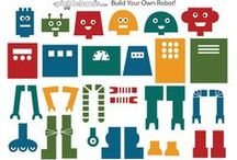 """Really Silly Robots / Really silly robot crafts and fun. Inspired by our book, """"The Really Silly Robot""""!"""