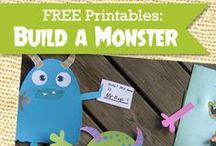 """Monster Manners / Crafts and activities that are monster or manner based. Inspired by our book, """"Monster Manners""""!"""