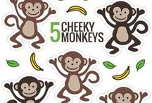 """Little Monkey / Crafts and activities about little monkeys. Inspired by our book, """"Little Monkey""""."""