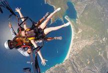 Tandem Paragliding / Tandem Paragliding Flights Escape-Hasan
