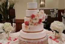 Cakes by Mindy at Receptions / At Receptions we have the award winning cake designer Mindy Fahrmeier, who is sure to make the perfect cake for your big day!